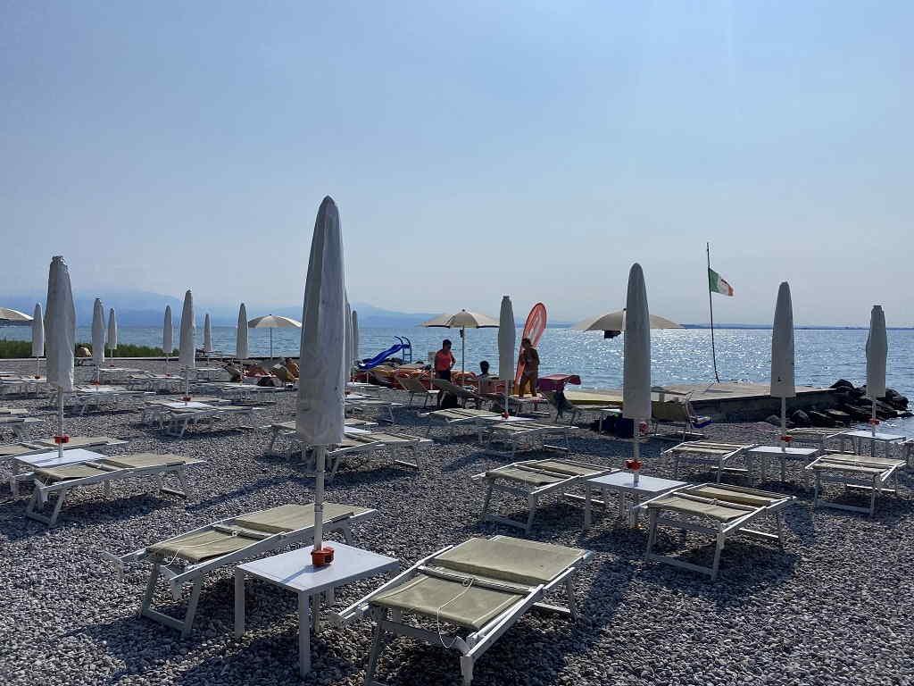 Lido Beach Spiaggia di Padenghe del Garda