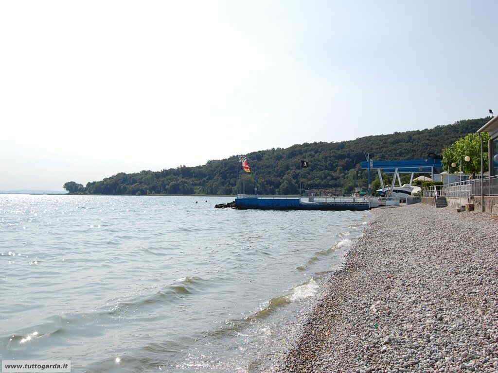 Spiaggia Casina di Padenghe sul Garda - Bs -