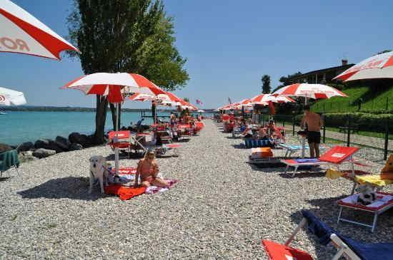 Spiaggia Baubeach a Peschiera