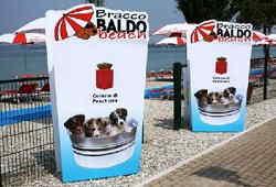 Bracco Baldo Bau Beach Spiaggia per cani Peschiera