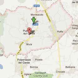 Mappa di Puegnago (BS)