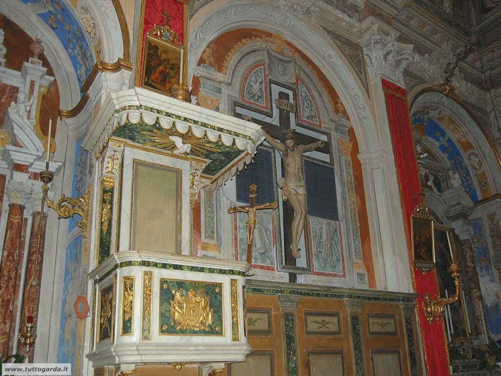 Foto della Chiesa Parrocchiale di Polpenazze interni