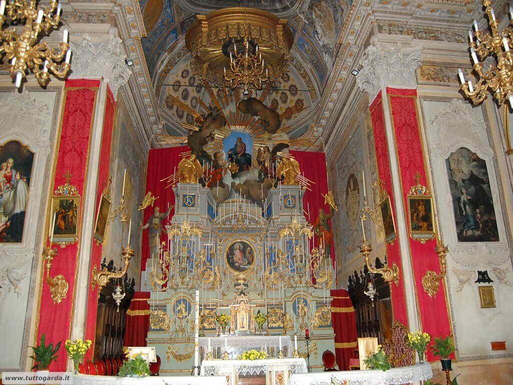 Chiesa Parrocchiale di Polpenazze interni
