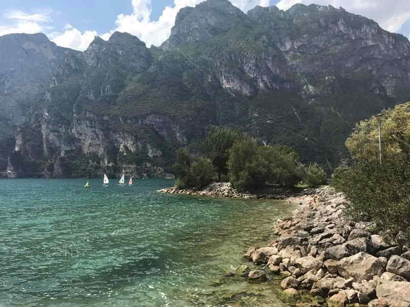 Spiaggia a Riva del Garda