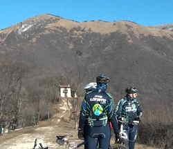 Passeggiata sul Monte Corna a Salò Bs