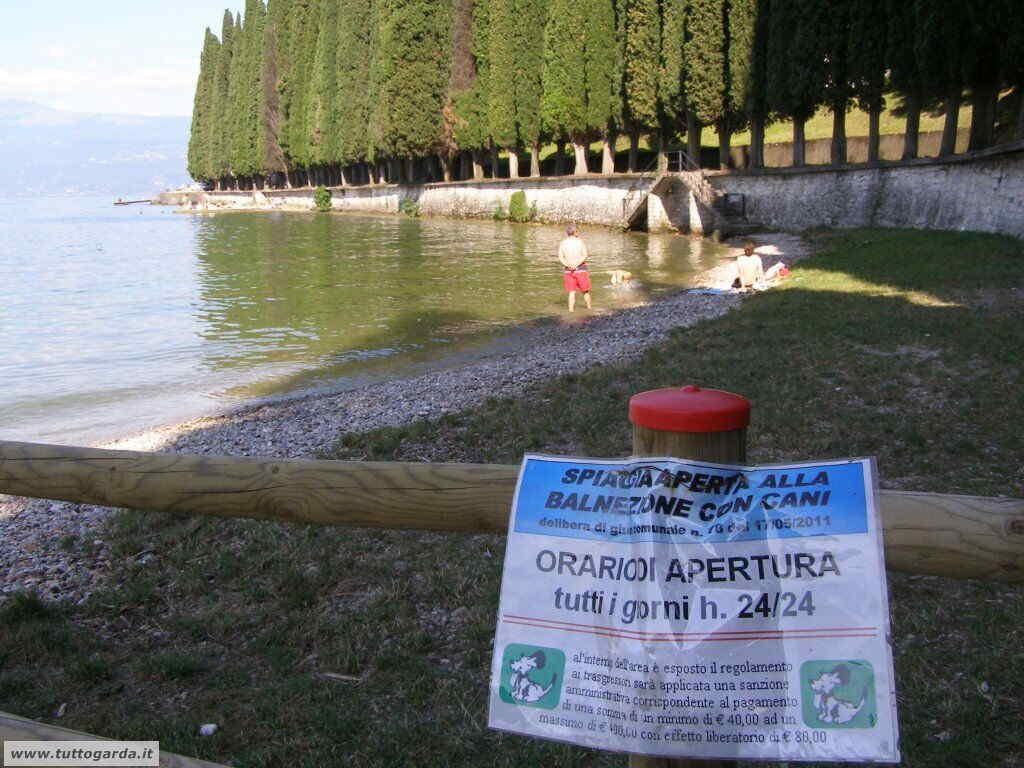 Regolamento spiaggia per cani Salò (BS)