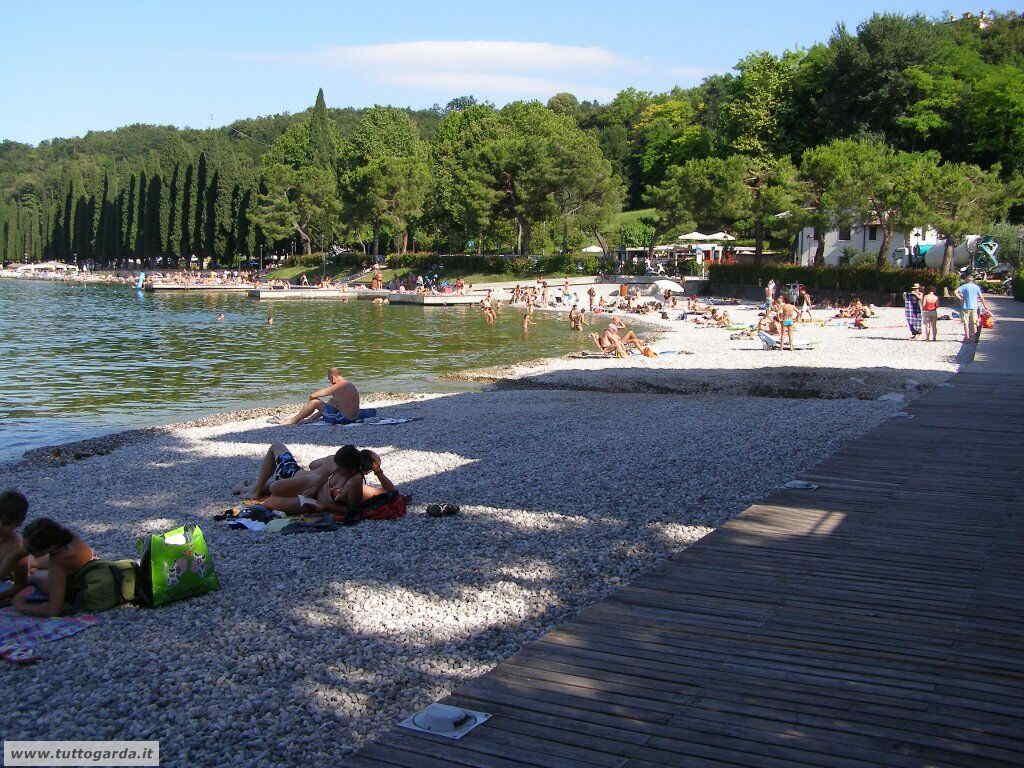 Foto della Spiaggia libera di Salò (BS)