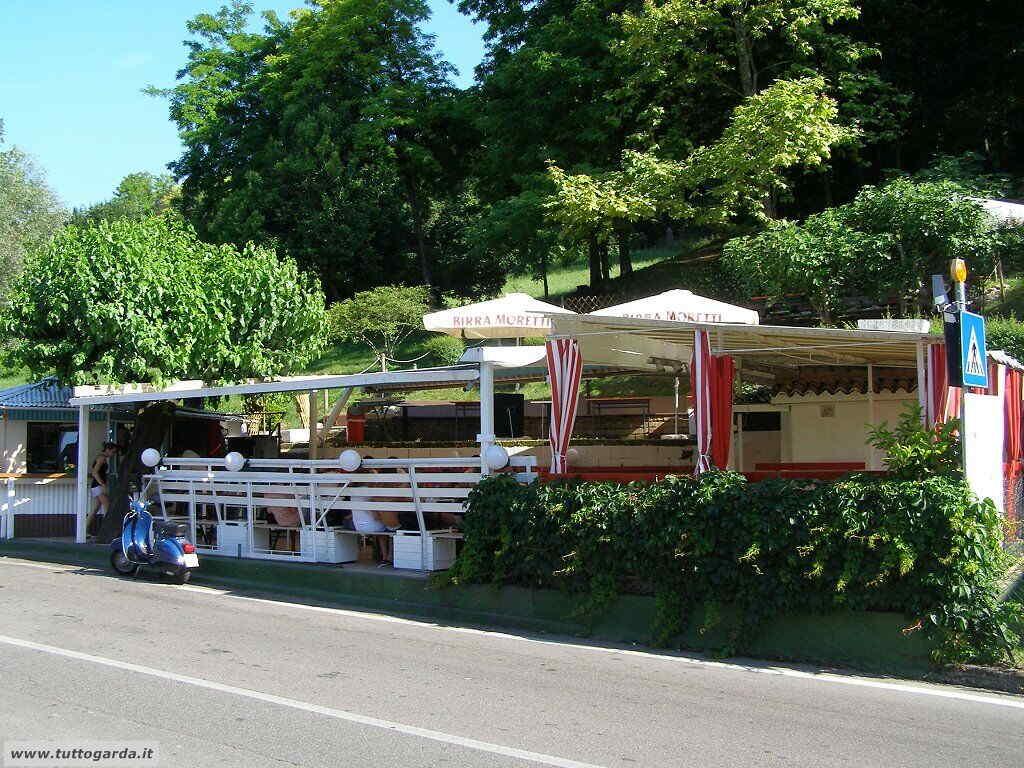 Chiosco Bar Spiaggia libera del Mulino a Salò (BS)