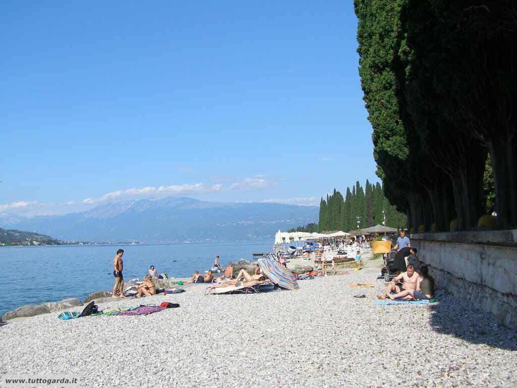 Spiaggia del Mulino a Salò (BS)