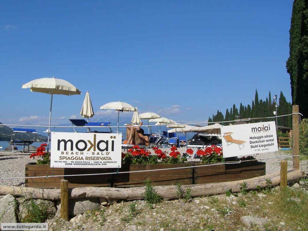 Mokai Beach Bar Spiaggia del Mulino a Salò (BS)