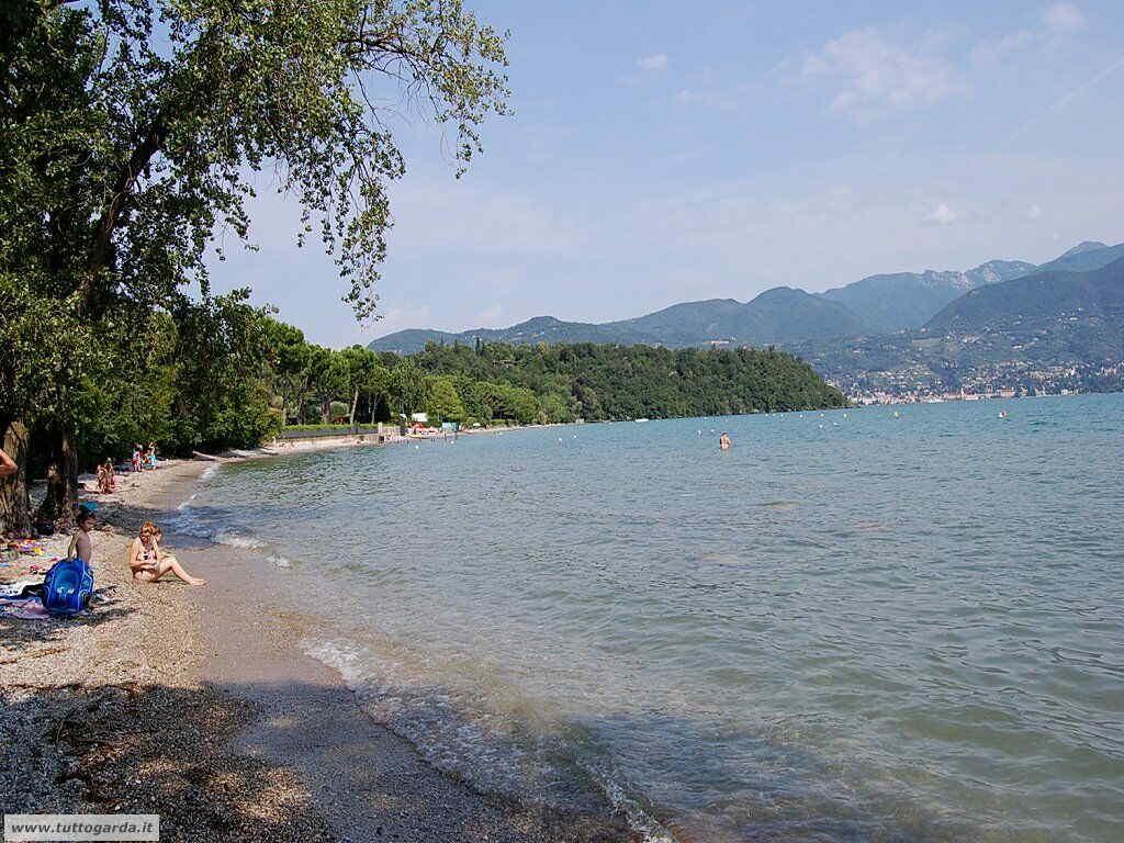 Spiaggia Baia del Vento San felice - Lago di Garda
