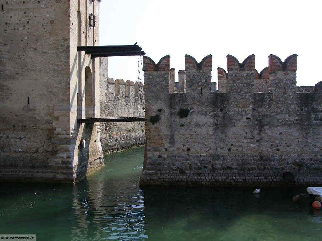 Castello di Sirmione, Rocca Scaligera