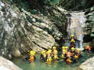 Canyon Vione Tignale lago di Garda