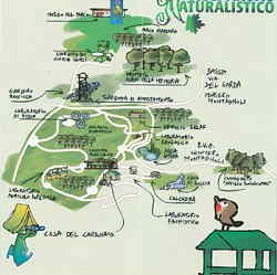 Osservatorio Parco Naturalistico Prabione di Tignale (BS) mappa