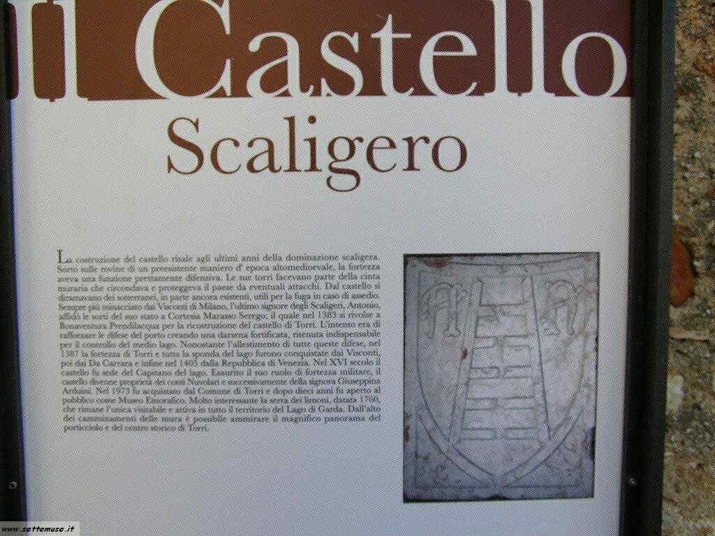 Castello di Torri del Benaco sul Garda