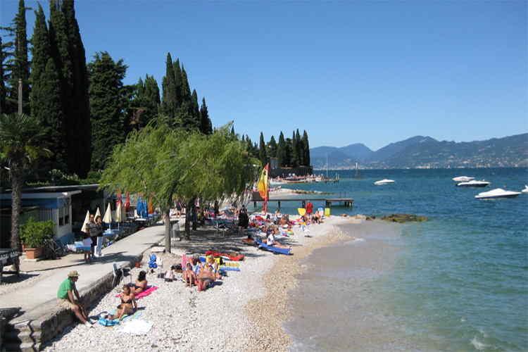 Spiaggia Valle Rendina di Torri del Benaco (VR)