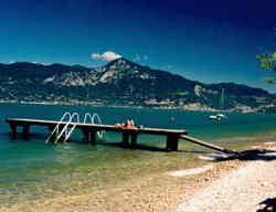 Spiaggia a Torri del Benaco