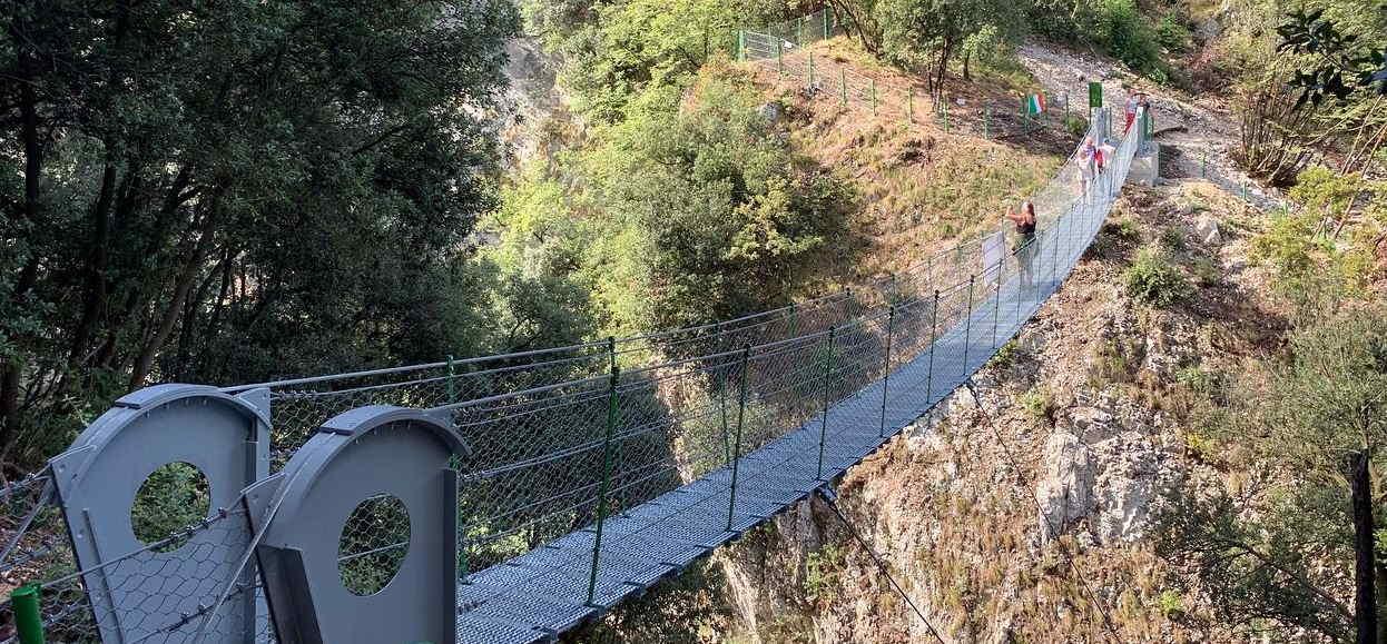 Ponte Tibetano - Torri del Benaco (VR)